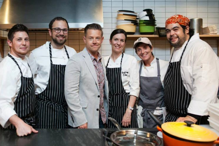 dineDK chefs with Chef Richard Blais